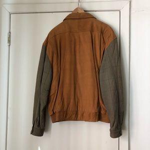 St. John's Bay Jackets & Coats - Men's Leather bomber jacket Front pockets and zip